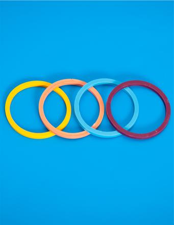 Jelölő gyűrű (4db)